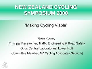 NEW ZEALAND CYCLING SYMPOSIUM 2000