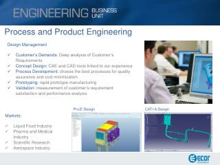 Process  and Product  Engineering