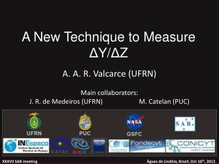 A New Technique to Measure  Δ Y/ Δ Z
