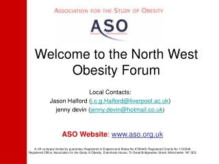 Welcome to the North West Obesity Forum
