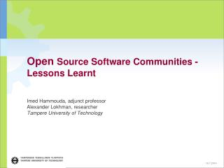 Open Source vs. Free Software