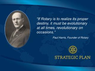 Paul Harris, Founder of Rotary