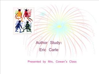 Author Study: Eric Carle
