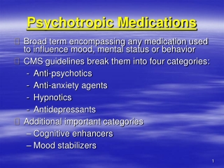 Medical Management of Patients on Atypical Antipsychotics