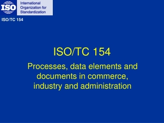 ISO/TC 154