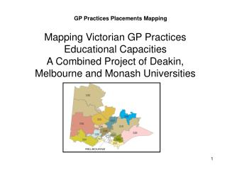 GP Practices Placements Mapping