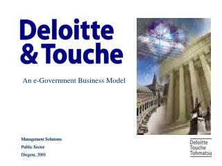 An e-Government Business Model