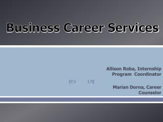 Business Career Services