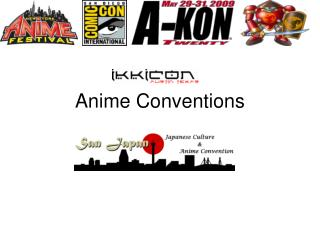 Anime Conventions