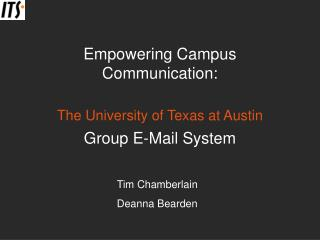 Empowering Campus Communication: