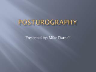 Posturography