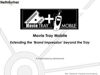 Movie Tray Mobile