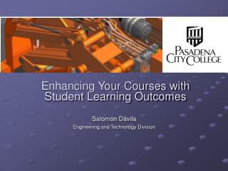 Enhancing Your Courses with Student Learning Outcomes
