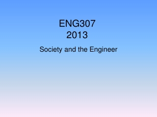 ENG307 2013
