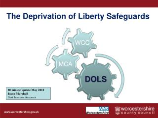 The Deprivation of Liberty Safeguards