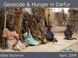 Genocide and Hunger in Darfur