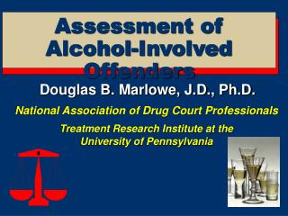 Assessment of Alcohol-Involved Offenders