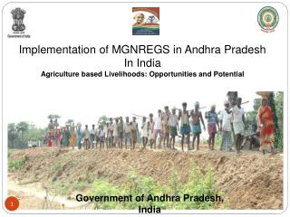 Implementation of MGNREGS in Andhra Pradesh In India