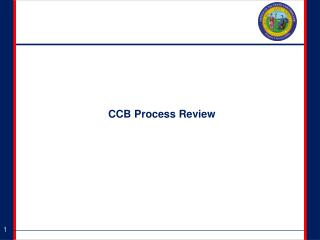 CCB Process Review