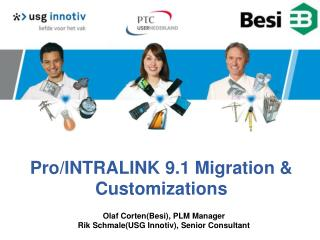 Pro/INTRALINK 9.1 Migration & Customizations