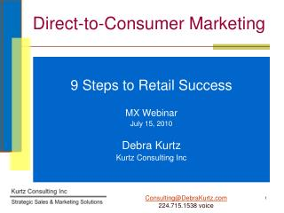 Direct-to-Consumer Marketing