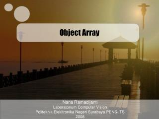 Object Array