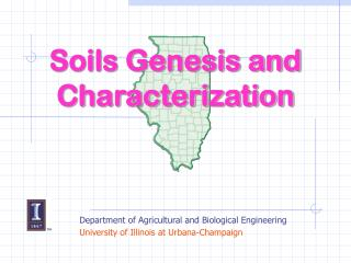 Soils Genesis and Characterization