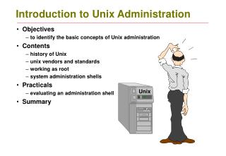 Introduction to Unix Administration