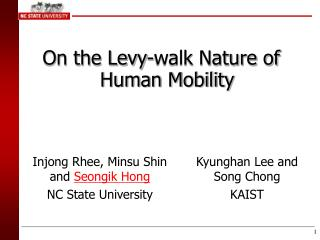 On the Levy-walk Nature of Human Mobility
