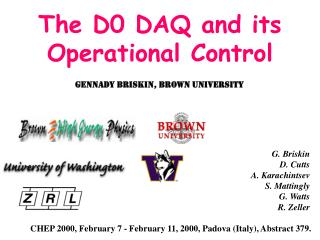 The D0 DAQ and its Operational Control