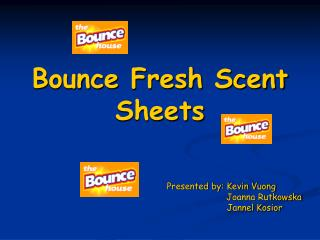 Bounce Fresh Scent Sheets