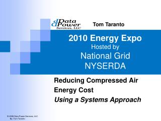 2010 Energy Expo Hosted by  National Grid NYSERDA