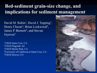 Bed-sediment grain-size change, and implications for sediment management