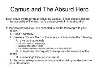 Camus and The Absurd Hero