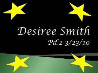 Desiree Smith