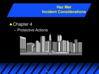 Chapter 4 Protective Actions