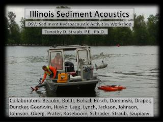 Illinois Sediment Acoustics