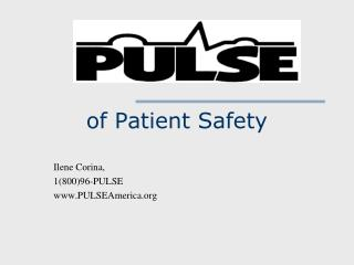 of Patient Safety