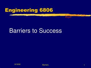 Engineering 6806