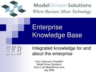 Enterprise Knowledge Base