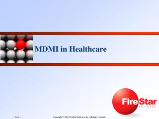 MDMI in Healthcare