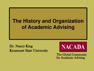 The History and Organization of Academic Advising