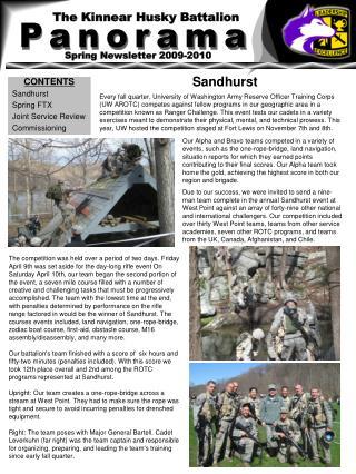 The Kinnear Husky Battalion