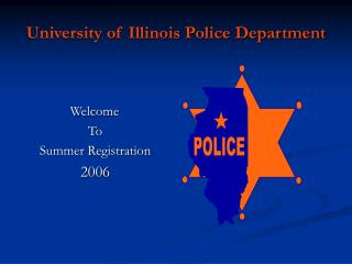 University of Illinois Police Department