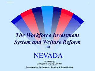 The Workforce Investment System and Welfare Reform