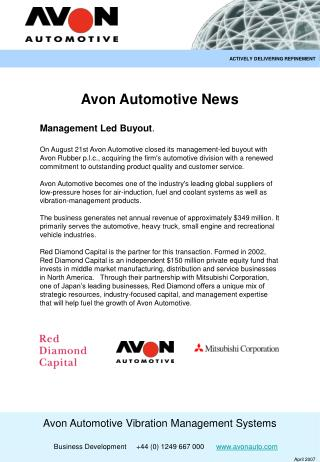 Avon Automotive News