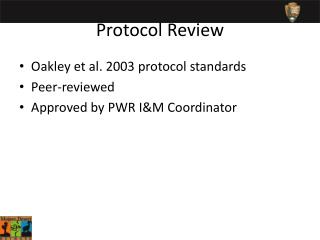 Protocol Review