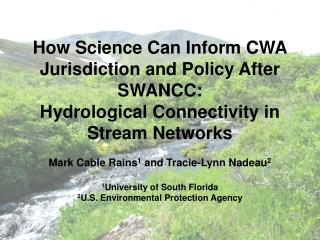 SWANCC (Solid Waste Agency of Northern Cook County v. U.S. Army Corps of Engineers)
