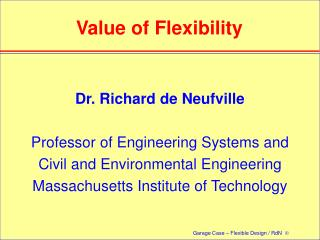 Value of Flexibility