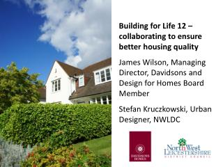Building for Life 12 – collaborating to ensure better housing quality